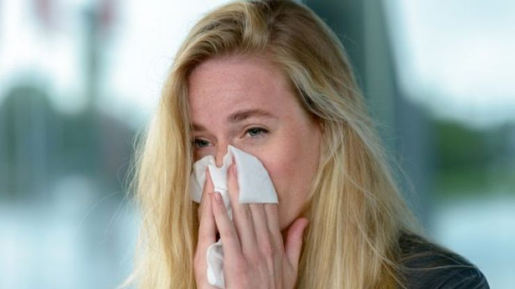Met Eireann is warning of HIGH pollen levels for the week, and please no