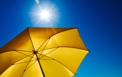 Temperatures are going to reach 24 degrees today but there will be some rain