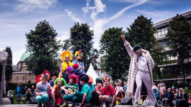 Dublin City Council invites families from all over Ireland to Opera In The Open