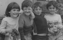 The children from the Tarbert photograph reunite to reenact it and it's beautiful