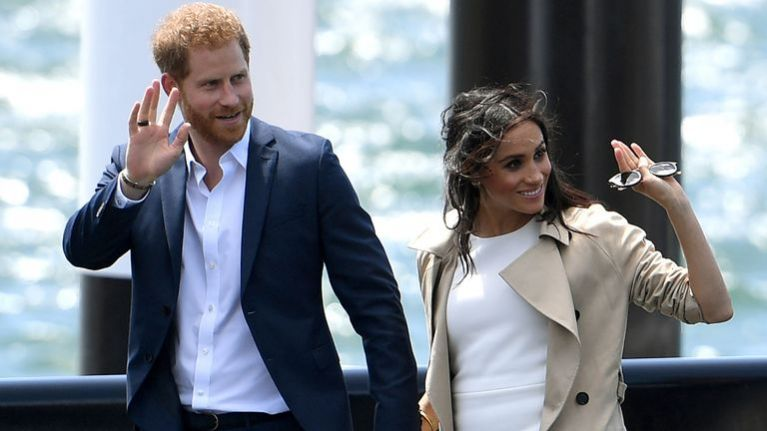Meghan Markle and Prince Harry pay tribute to Princess Diana on their Instagram