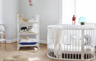 WIN a gorgeously cosy Stokke Sleepi crib for your baby worth €584!