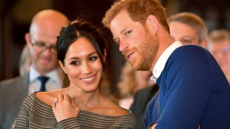 Meghan Markle's gorgeous €77 M&S dress is finally back in stock