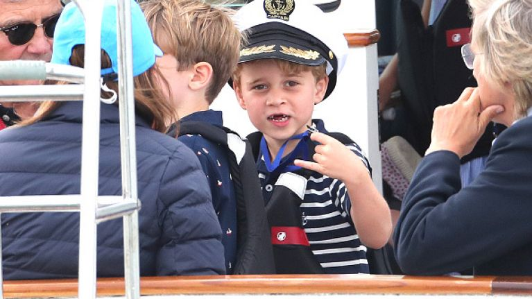 Prince George and Princess Charlotte completely steal the show at royal boat race