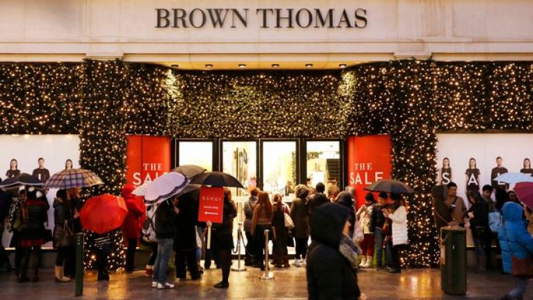 Brown Thomas is officially opening its Christmas shop today