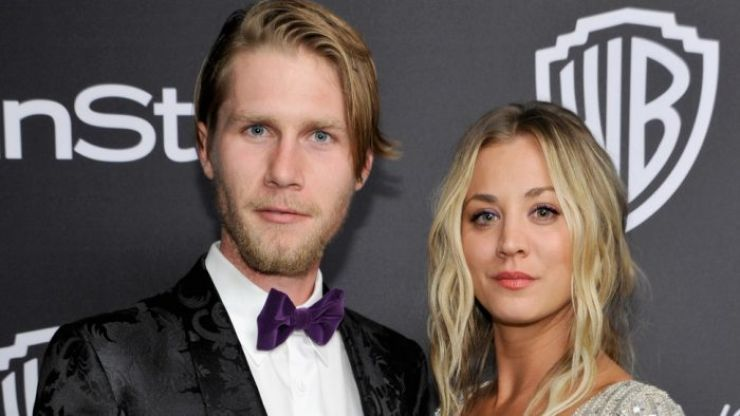 Kaley Cuoco reveals that she doesn't actually live with her husband right now