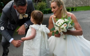 RTÉ's Kathryn Thomas marries partner Padraig McLoughlin in Co Kildare