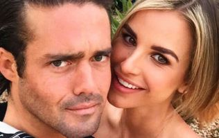 Vogue Williams shared a snap of her second wedding dress with a twist
