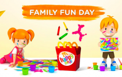 Perfect timing! The next McDonald's Family Fun Day is happening SO soon