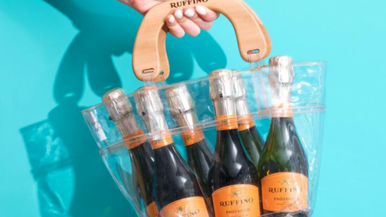 A prosecco handbag exists and World Prosecco Day is the perfect time to make a purchase