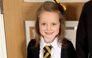 This little girl's before-and-after back to school picture is EVERYTHING