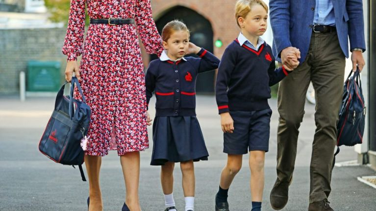These just-released photos from Princess Charlotte's first day at school are adorable