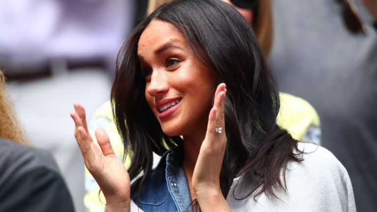 Meghan Markle's outfit at the US Open featured a message for both Prince Harry and Archie