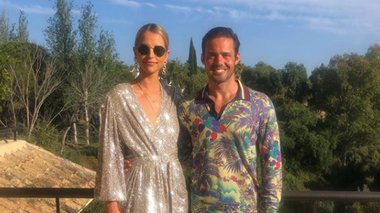 Vogue Williams and Spencer Matthews had a second wedding over the weekend