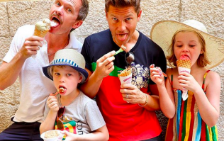 This celebrity dad has a really unique trick to get his kids to talk about their day at school