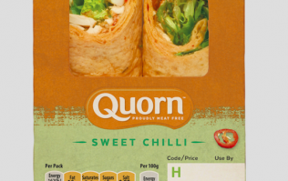 Quorn introduce premade sandwiches and wraps in the UK