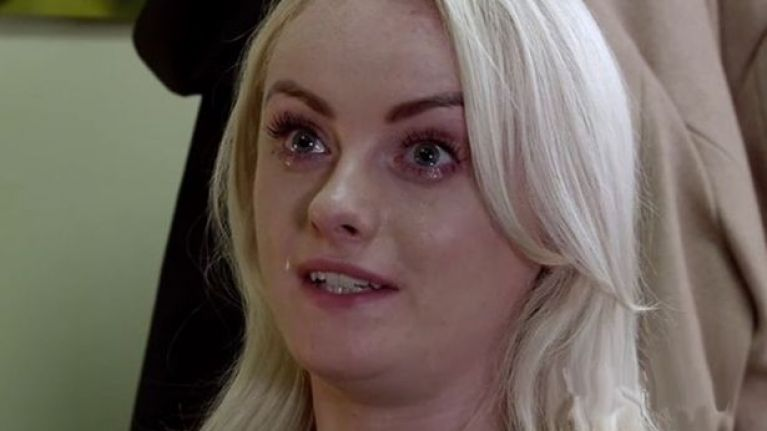 Corrie fans heartbroken as Sinead Tinker told she only has months to live