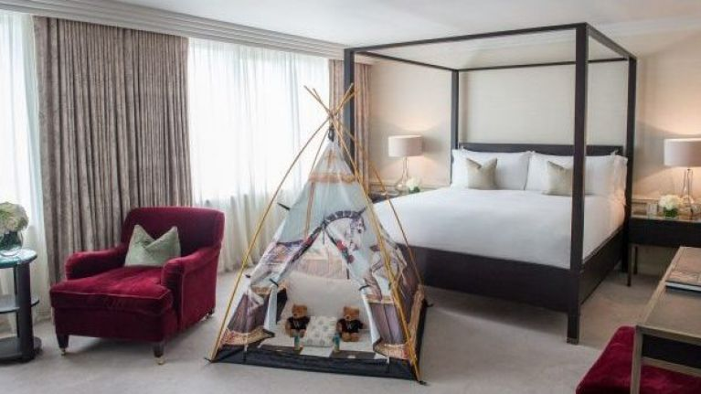 This gorgeous Dublin hotel has come up with the perfect way to accomodate little guests