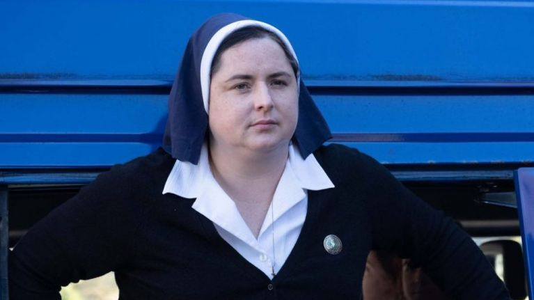 Derry Girls' Sister Michael leads the lineup on tonight's Ray Darcy Show