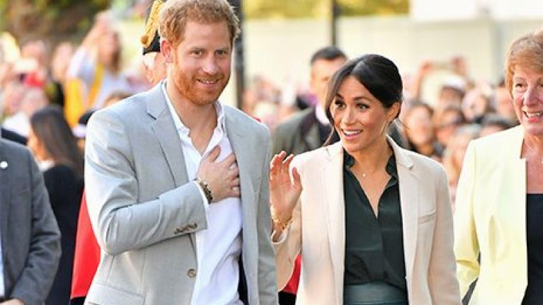 Prince Harry is reportedly giving Meghan Markle this push present