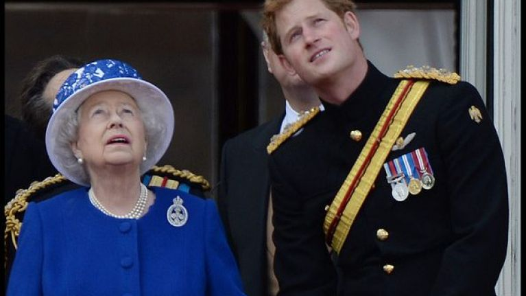 The secret promise that Prince Harry made to the Queen that totally changed his life