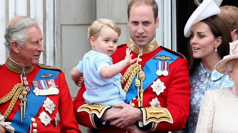 Everyone is doting on these royal kids and no, it's not Prince George and Princess Charlotte
