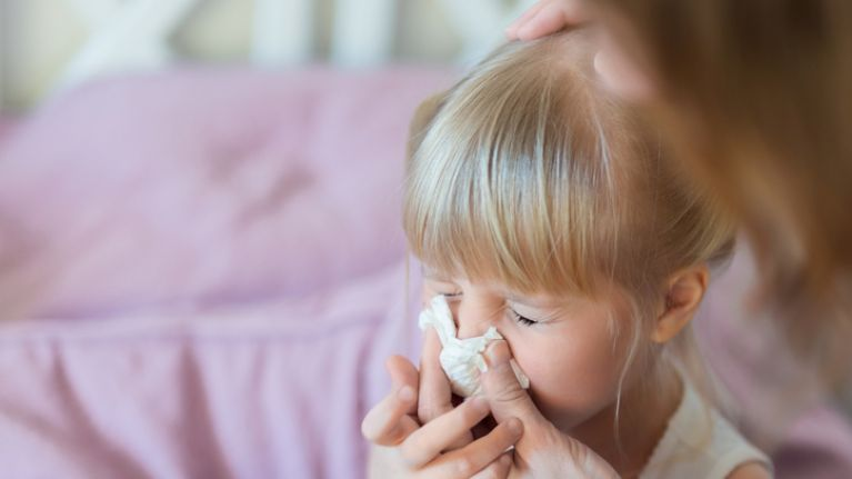 Here's how to tell the difference between a common cold and the flu