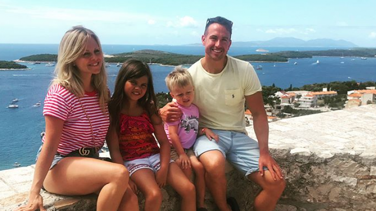 Corrie's Tina O'Brien has reportedly married her longtime boyfriend in New Years ceremony