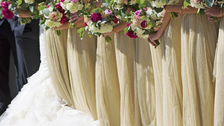 This bride's request for her bridesmaids' appearance is the most extreme we've ever heard