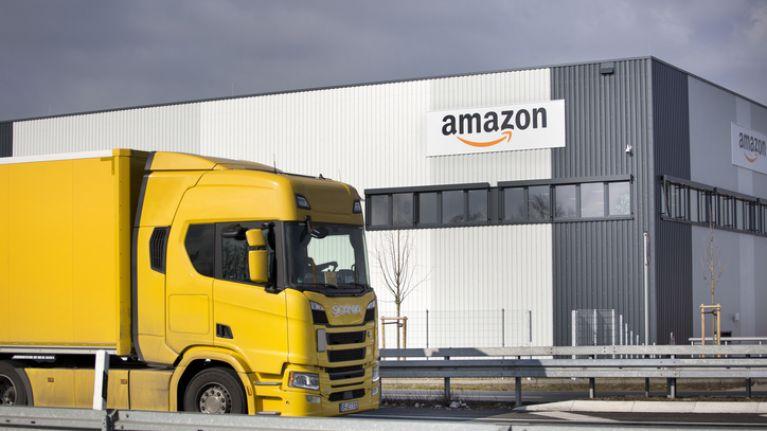 Newborn baby dies after being found in bathroom at Amazon warehouse