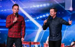 Ant McPartlin is returning to Britain's Got Talent tomorrow