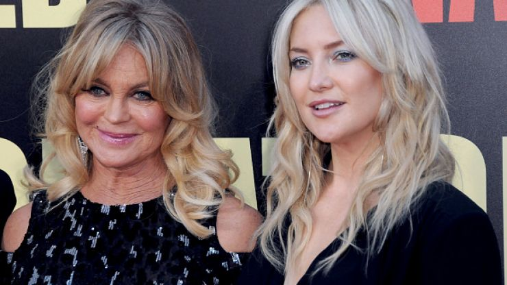Goldie Hawn and Kate Hudson's story proves that grannies can be a nuisance during labour