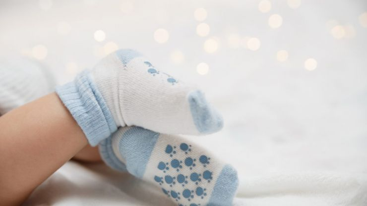 This simple trick will keep you from losing baby socks in the wash ever again