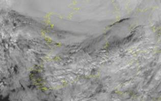 Some rain and 'breezy conditions' to cover Ireland for the rest of the day