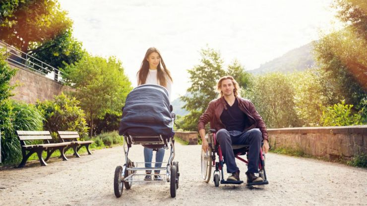 Mum shares post about how damaging stereotypes can be for disabled parents