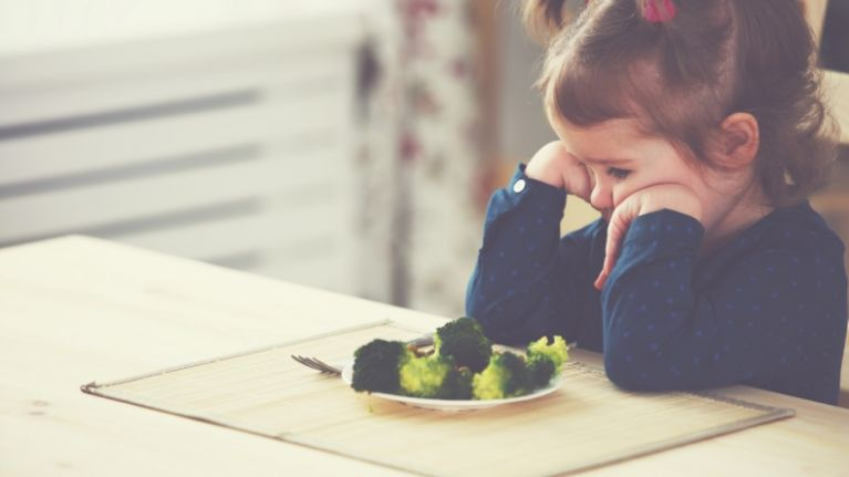 We're totally going to steal this dad's trick for getting picky kids to eat