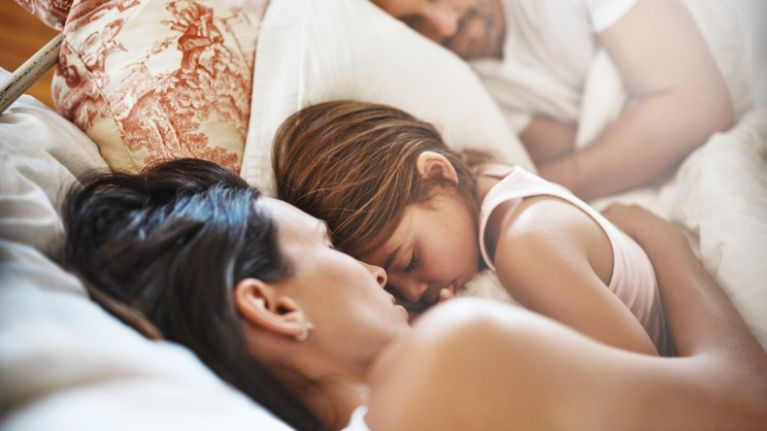 This research has confirmed that dads get more sleep than mums