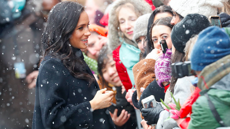 Just gorgeous! We are big fans of Meghan Markle's latest maternity style