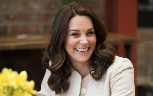 Kate Middleton and Prince Louis look very alike in this sweet side by side photo