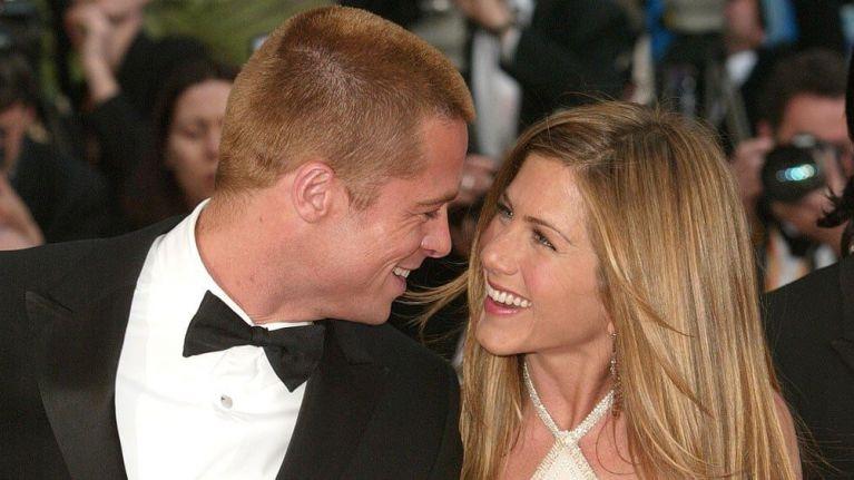 Brad Pitt celebrated Jennifer Aniston's 50th birthday with LOADS of celebs last night