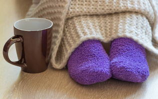 We need this electric foot warmer to heat our cold toes up ASAP