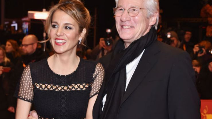 Richard Gere and wife Alejandra Silva welcome first child together