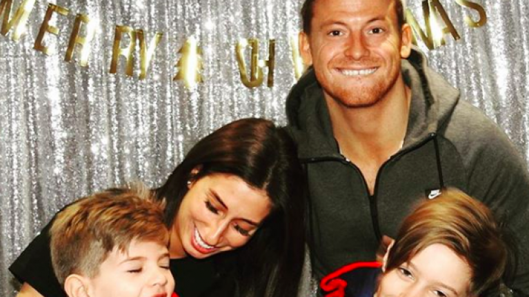 Stacey Solomon just shared the most ADORABLE family photo following pregnancy news