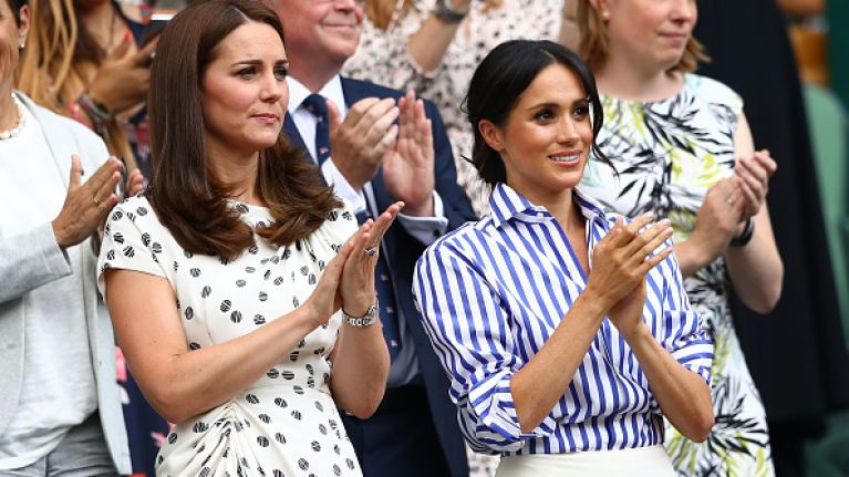 This is the reason why Kate Middleton didn't attend Meghan's baby shower
