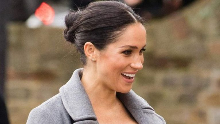 Fans think this is a hint that Meghan Markle will give birth sooner than we think