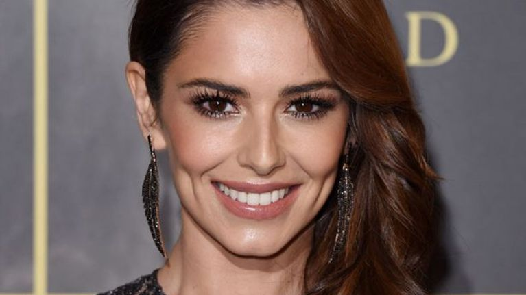 Cheryl wore the most stunning rainbow dress last night, and just WOW