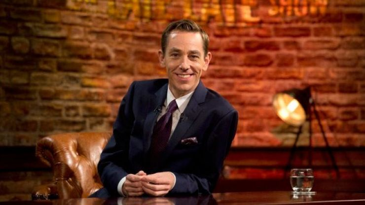 The lineup for tonight's Late Late Show is actually bloody brilliant