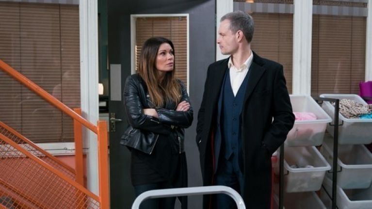 The nightmare begins for Corrie's Carla in tonight's one-hour episode