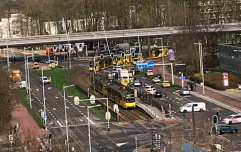 Several people injured after 'man opens fire on tram' in Dutch city of Utrecht