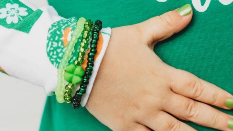 Piggy Paint is selling a St Patrick's Day set that is safe for even the tiniest fingers